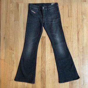 "Diesel ""LIVIER-FLARE"" jeans, never worn."